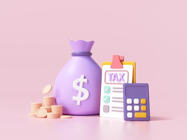 세금 납부 및 사업 세 개념