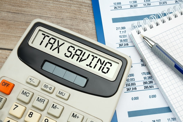 電卓の税金節約の言葉