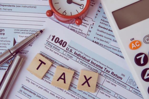 Taxes and forms