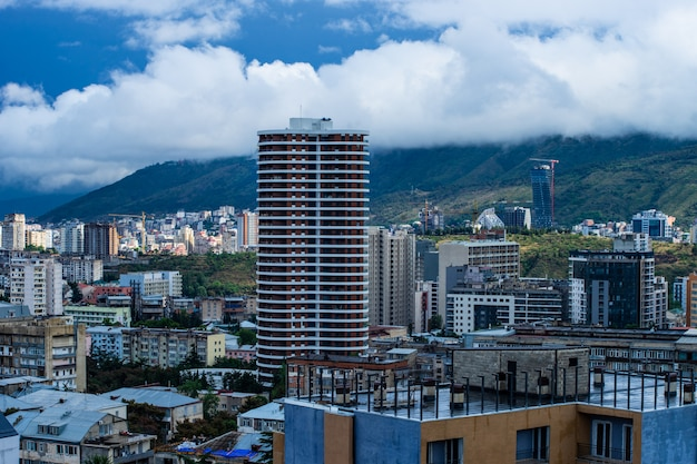 Tbilisi summer  cityscape