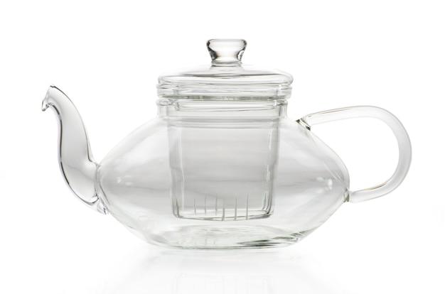 ガラスに注がれているお茶