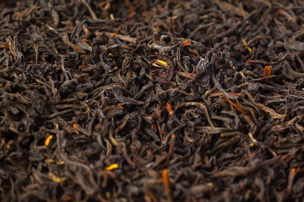 Tea close up background