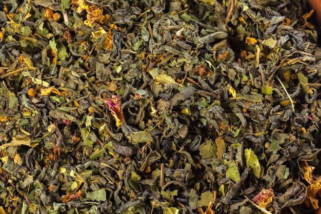 Tea close up