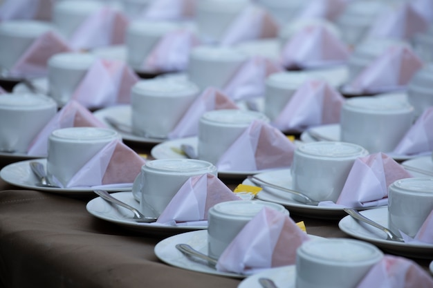 Tea or coffee break.