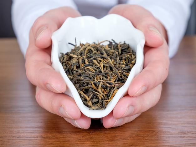 Tea in hands