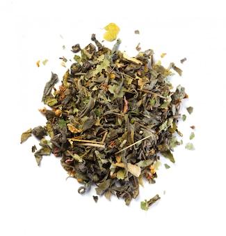 Tea isolated on white