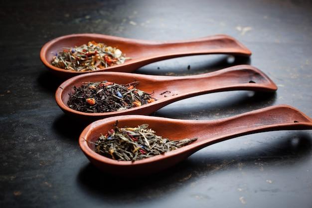茶葉の背景