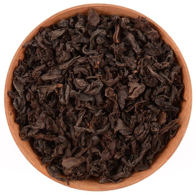 Чай на белом фоне