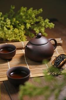 Чай кукол культура коричневый напиток