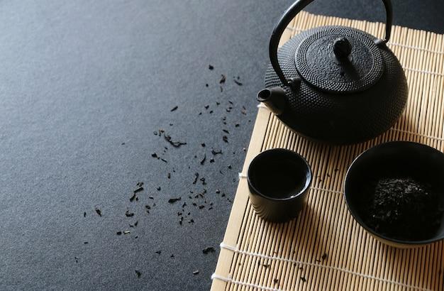 Tea set japanese oriental style