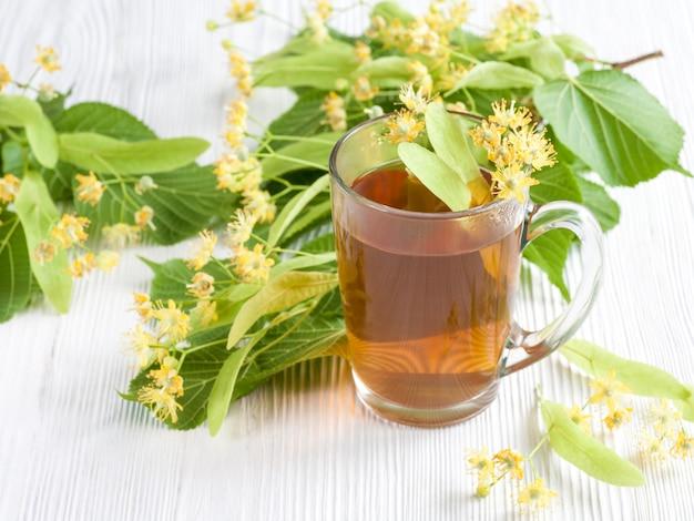 Tea with lime flower