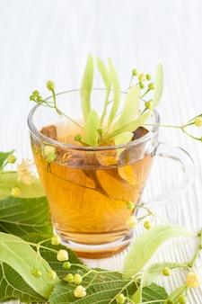 Tea with linden