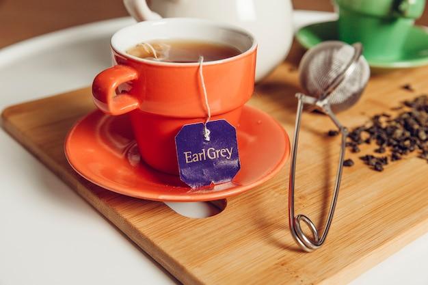 Tè con tazzina