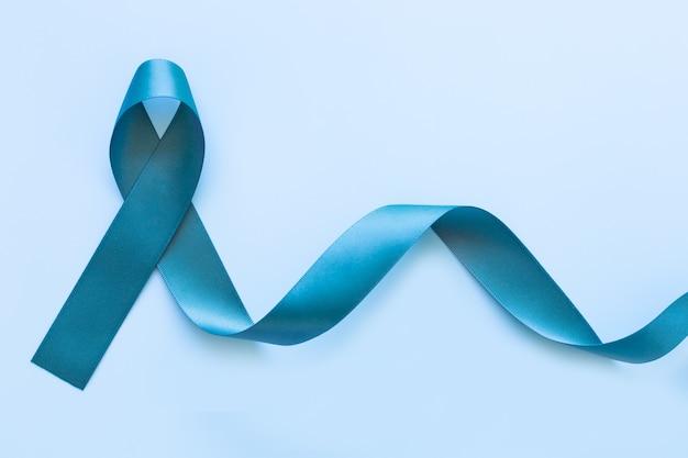 ティールカラーリボン、卵巣がんの認識、心的外傷後ストレス障害