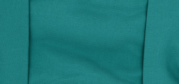 Teal green fabric texture background