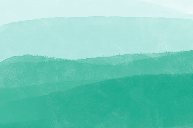 ティール水彩背景、デスクトップ壁紙抽象的なデザイン