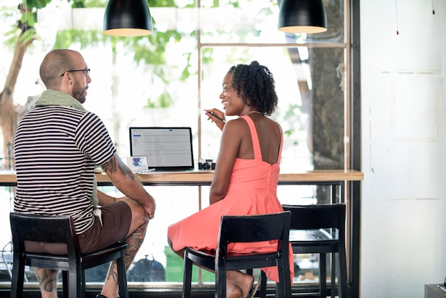 Team corporate planning communication internet concept