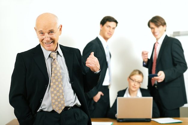 Team and teamleader: success