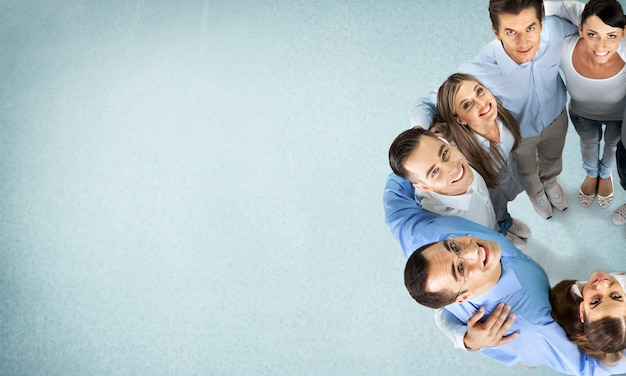 팀 작업 팀웍 비즈니스 파트너십 회사 성공