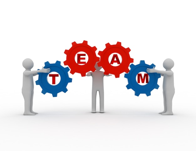 ギアとチームワークの概念
