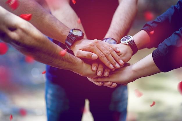 Teamwork and unity teamwork