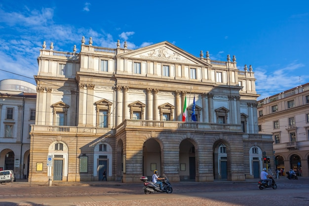 The teatro alla scala in milan