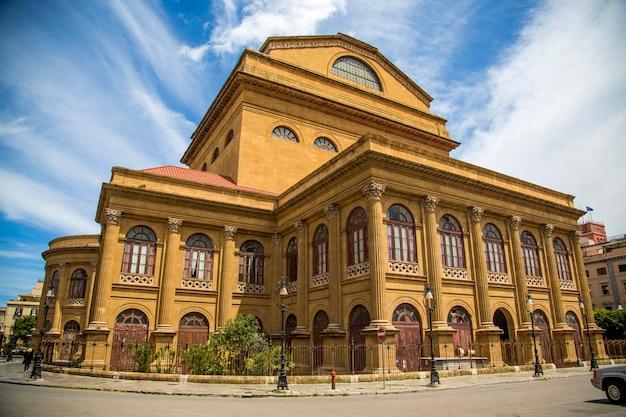 シチリア島パレルモのマッシモ劇場