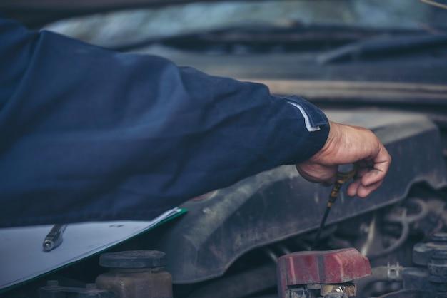 기술자 작업장 수리 엔진 자동차 서비스 기계 공학 사업