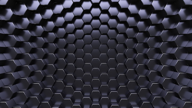 Technological background. hexagonal crystals.