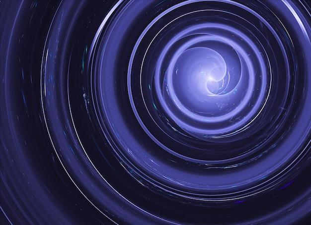 Технологический текстурированный фон. 3d фрактальная графика. концепция науки и техники.