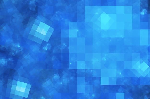 Технологический текстурированный фон d фрактальная графика концепция науки и техники