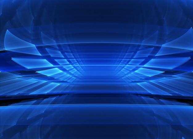 Технологичная фактурная поверхность. 3d фрактальная графика. концепция науки и техники.