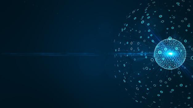 Концепция технологии больших данных.