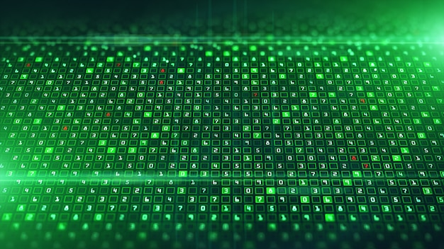 Технология цифровой анализ данных и двоичное кодирование данных