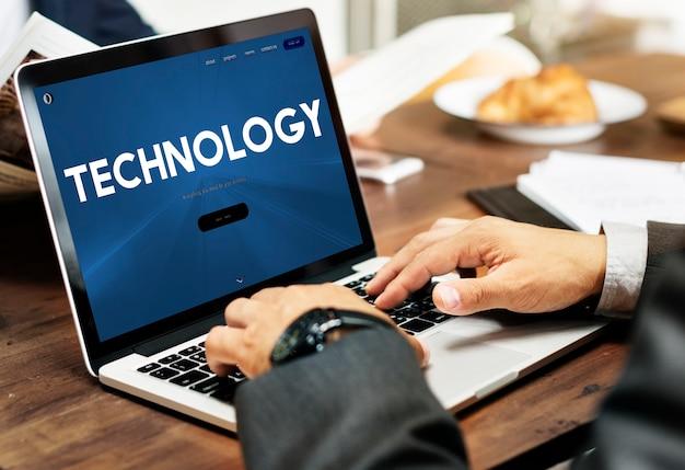 Технология digital internet data innovation