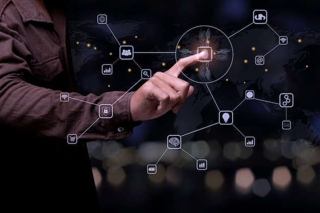 Technology fingerprint scan provides security