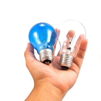 Technology idea intelligent lamp lightbulb