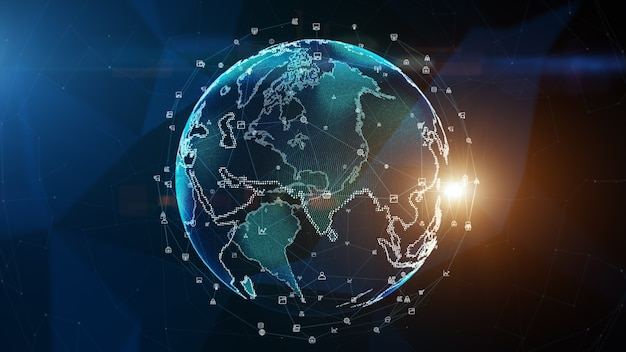 テクノロジーネットワークデータ接続