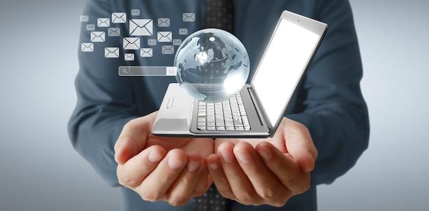 Технологические устройства соединены друг с другом в руках