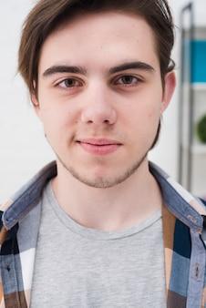 Teenager boy portrait