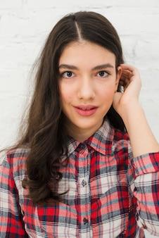 Teenager girl portrait
