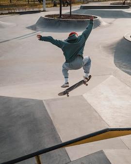 스케이트 보드와 재미 십 대