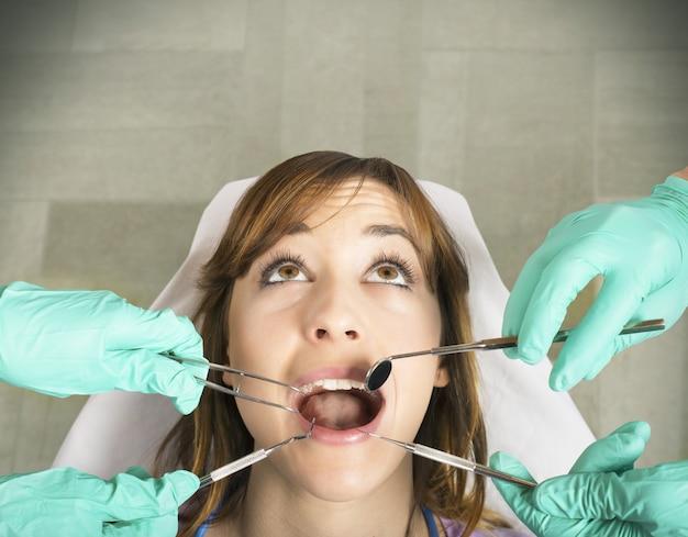 歯のコントロール