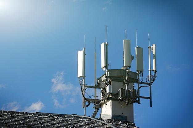 テレコミュニケーション4g、5g送信機。