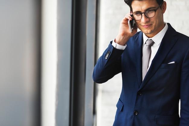 Telecommunication converation vision corporate concept