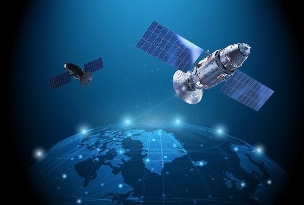 Телекоммуникационные технологии со спутниковой антенной связью с миром