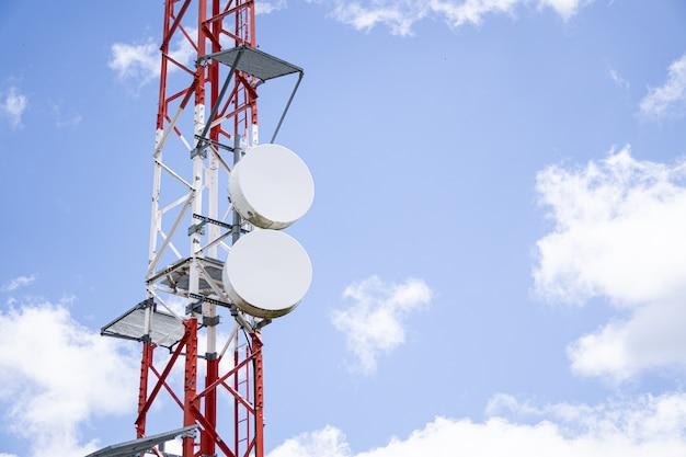 Telecommunications antenna tv and radio