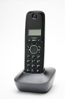 白地の都市部および長距離回線への通話用の受話器