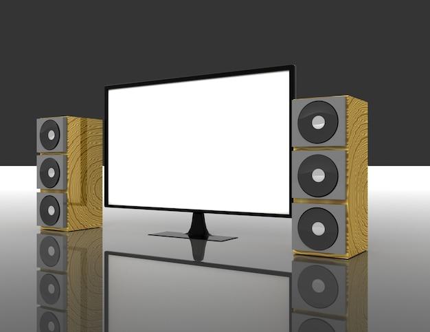 Телевидение с динамиками объемного звука