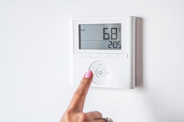 スマートホームの温度制御